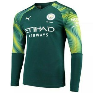 Puma Manchester City jersey Green 2019/20 DryCELL